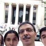 Selfie at MIT steps