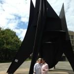 Big Sail statue at MIT
