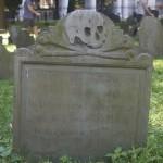 Headstone at Granary