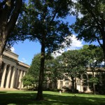 Killian Court from the shade