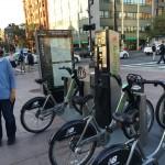 Short-term rental bikes