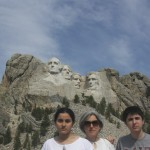 At Mt. Rushmore / Mt. Rushmore'da