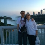 Zehra & Tanju over the Rainbow Bridge