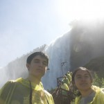 Ali & İrem under the American Falls
