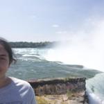 İrem at the Falls